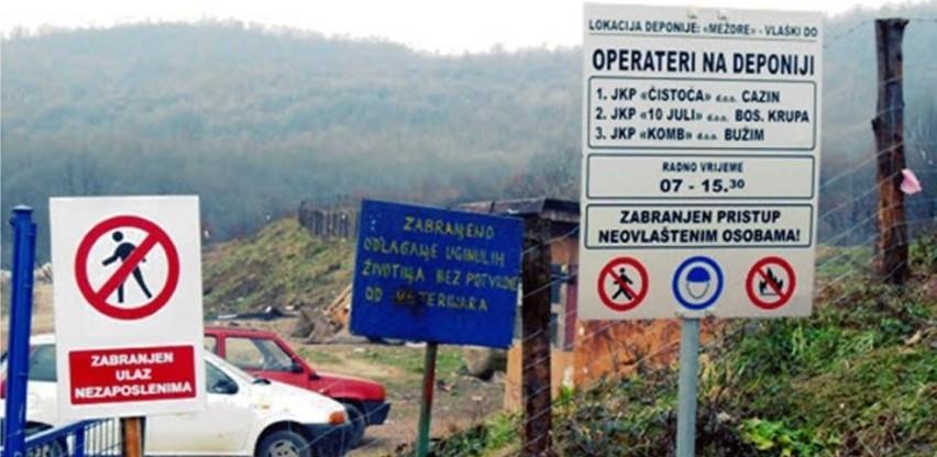Bosanska Krupa osigurala 80.000 KM za izgradnju regionalne deponije
