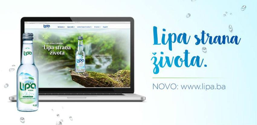 LIPA voda ima novu redizajniranu web stranicu