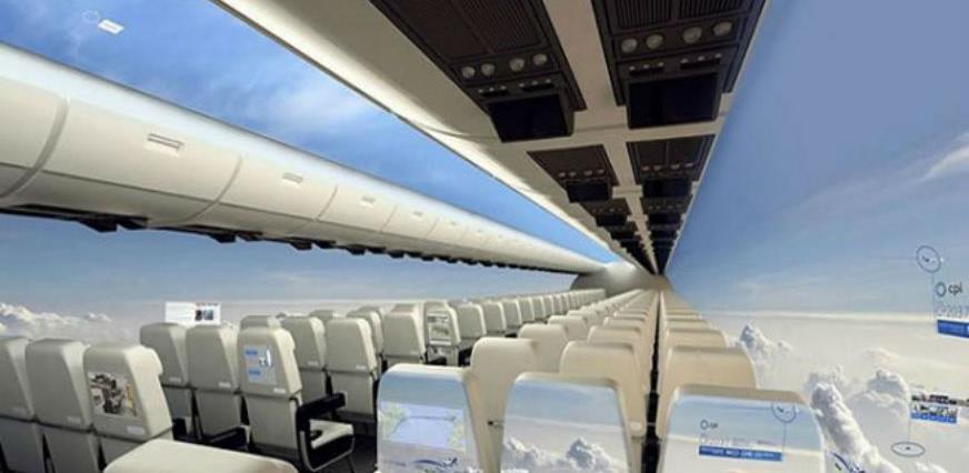 Avioni bez prozora pružit će putnicima panoramski pogled ka nebu