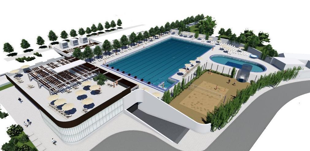Skoro 6 miliona KM za izgradnju sportsko-rekreacionog centra Dobrinja