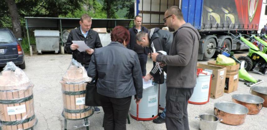 Poduzetnicama iz Jablanice uručena vrijedna oprema