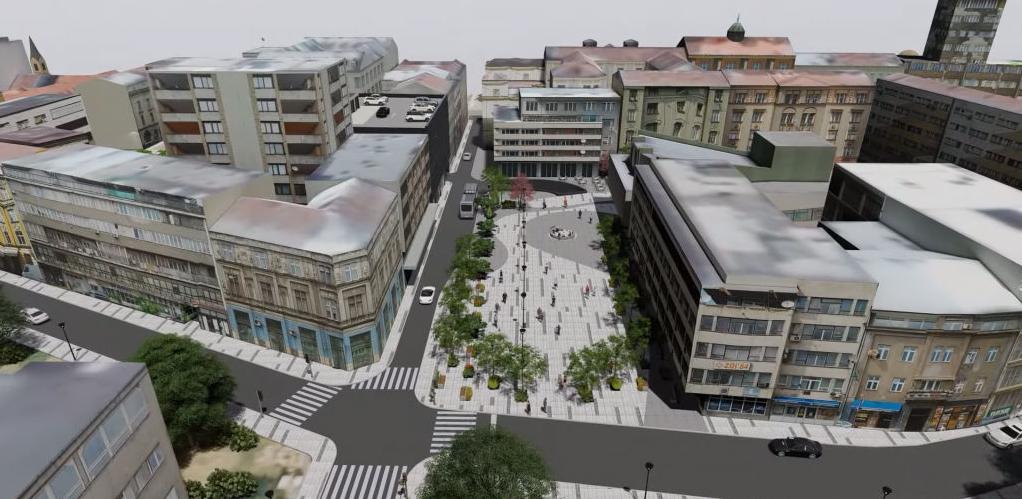 Sarajevo će dobiti veliki trg u centru grada
