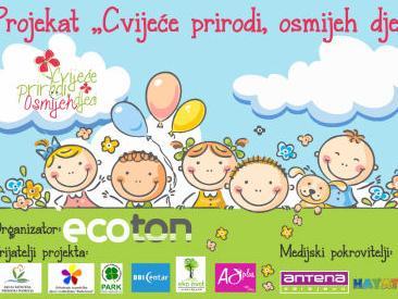 Ecoton iz Sarajeva organizira projekat 'Cvijeće prirodi, osmijeh djeci'