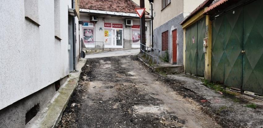 Započela sanacija saobraćajnice u Tepebašinoj ulici
