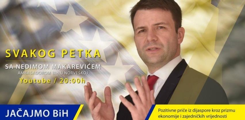 Ambasador Makarević pokrenuo video serijal o saradnji BiH i dijaspore