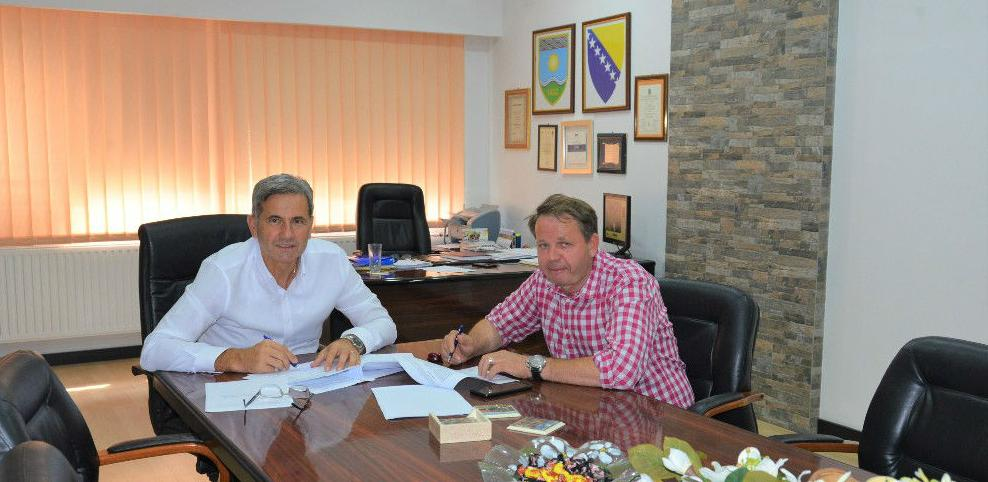 Žepče: Potpisan ugovor o izgradnji vodospremnika u MZ Gornja Ozimica