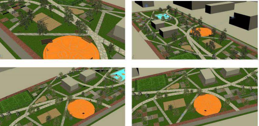 Odabrano idejno rješenje za izgradnju gradskog parka u Istočnom N. Sarajevu