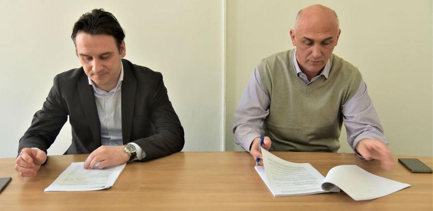 Potpisan Ugovor za izgradnju vodovodne mreže u poslovnoj zoni Ozrakovići