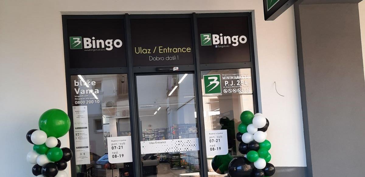 Bingo otvorio dvije nove poslovnice u Mostaru i zaposlio još 25 radnika