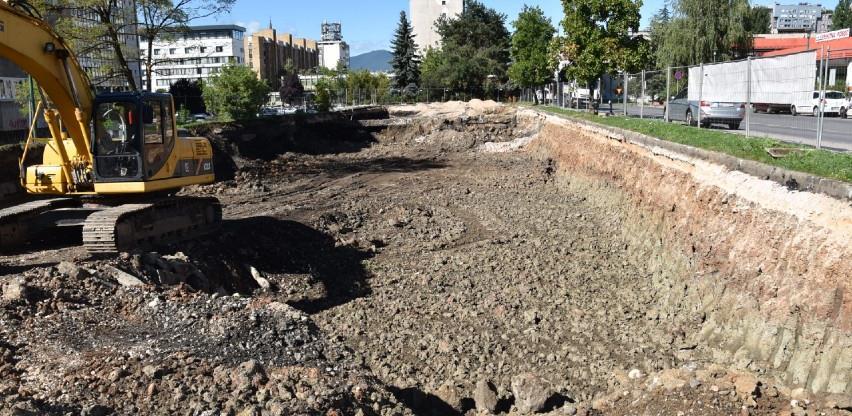 Do 15. novembra bit će završena podzemna garaža kod Hitne pomoći