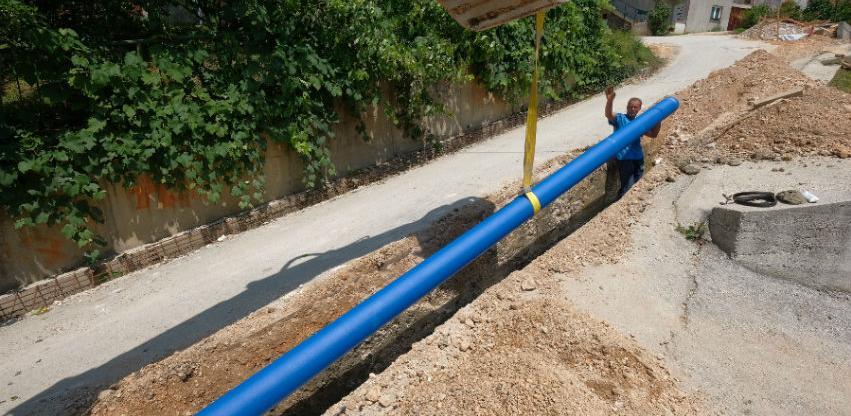 Rekonstrukcija blizu 2,5 kilometara vodovodne mreže u naselju Zabrđe