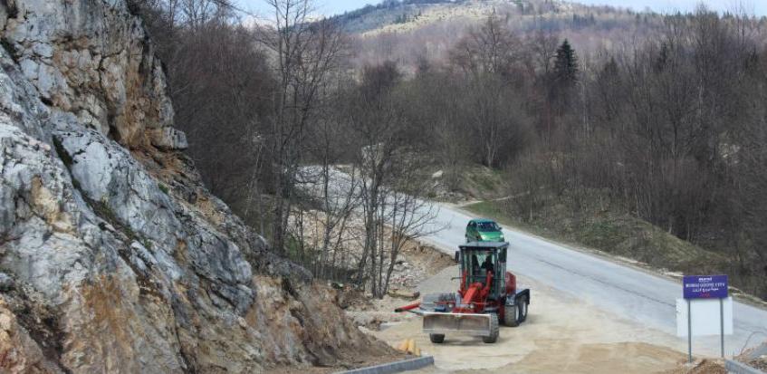 Nastavljaju se radovi na izgradnji nove saobraćajnice na Bjelašnici