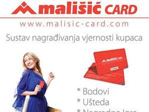 Iskoristite pogodnosti koje vam nudi nova potrošačka kartica Mališić card