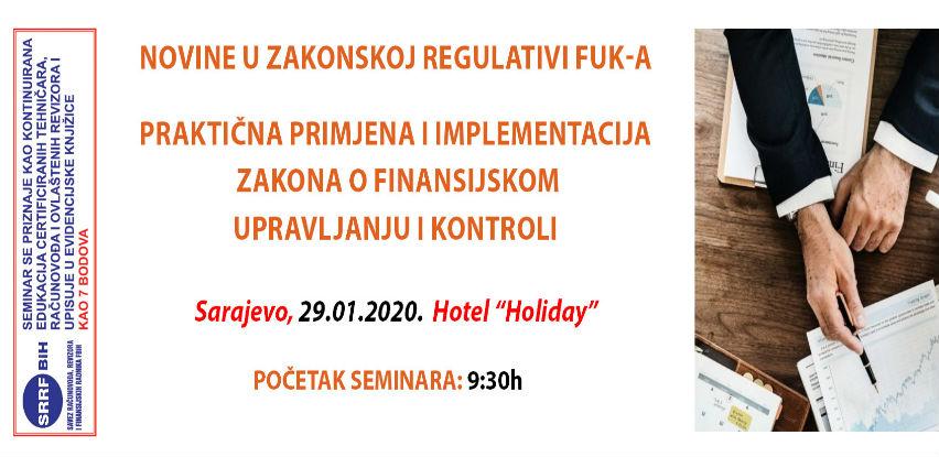Interaktivni seminar: Novine u zakonskoj regulativi FUK-a