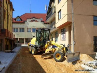 Izgradnja kanalizacijskih kolektora u Općina Tomislavgrad