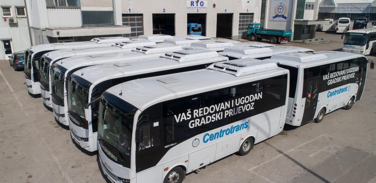 Centrotrans od petka uspostavlja javni gradski prijevoz