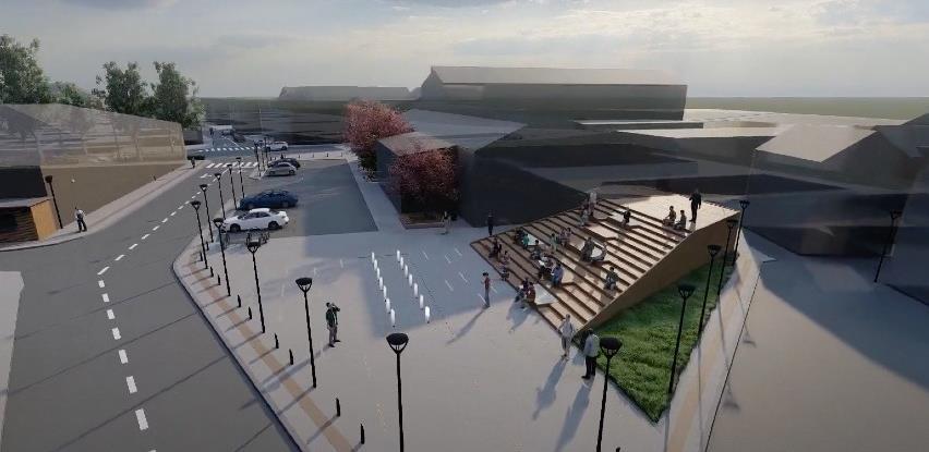 Predstavljamo idejno rješenje uređenja javnih površina u dvije ulice Bosanske Krupe