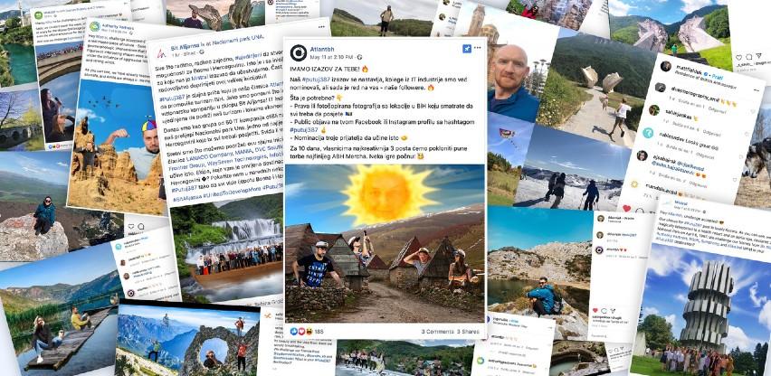 Kompanija Atlantbh projekt izazovom #putuj387 pomaže bh. turizmu