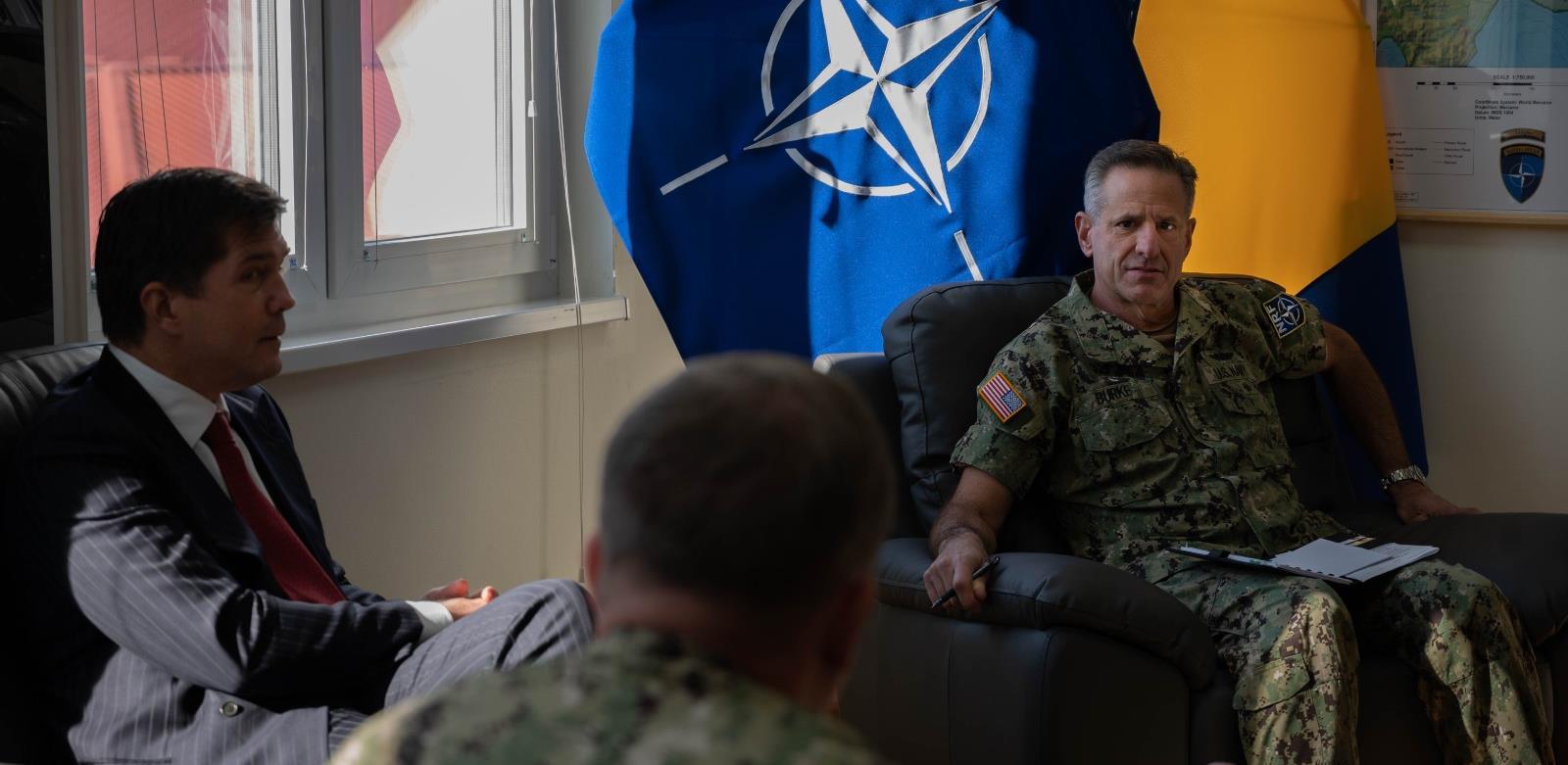 Robert Burk NATO