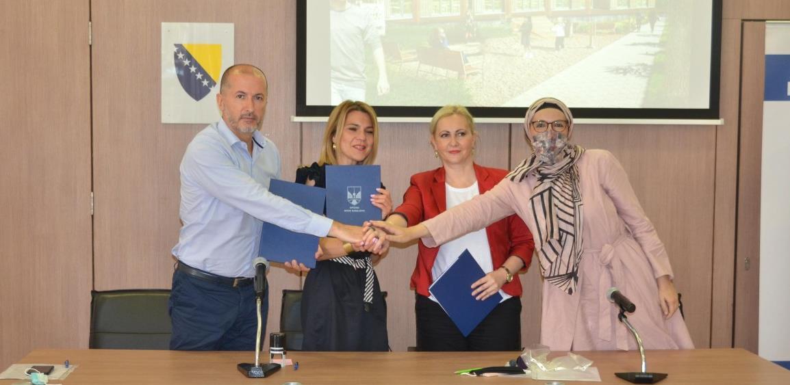 """Potpisan sporazum o rekonstrukciji devastiranog vrtića """"Ciciban"""""""