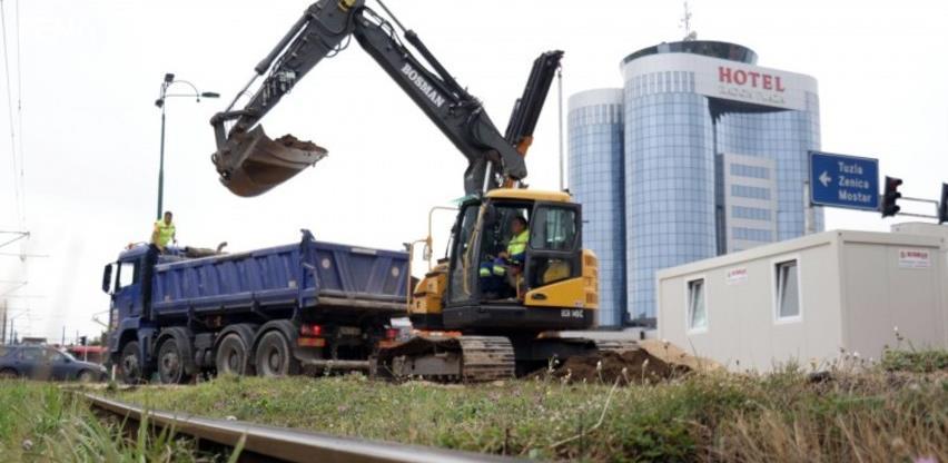 Počela rekonstrukcija pruge u Sarajevu, od Nedžarića do Ilidže (VIDEO)