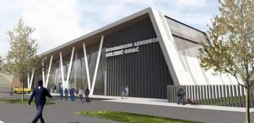 Aerodrom u Bihaću dobio glavni projekat, pogledajte kako će izgledati terminal