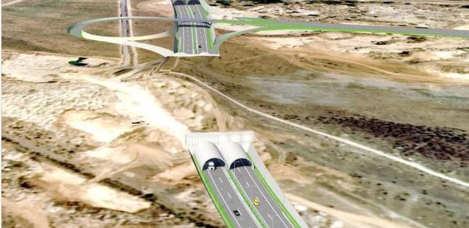 Pogledajte detaljan prikaz dionice autoputa Mostar Jug - Buna na Koridoru