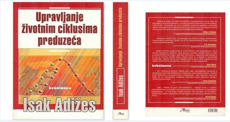 Potražite: Dopunjeno i revidirano izdanje najpoznatije knjige Isaka Adižesa
