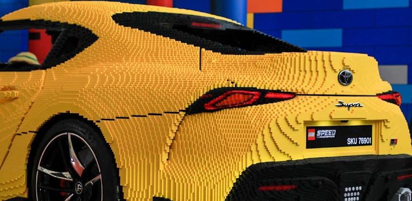 Lego napravio Toyota Supru u prirodnoj veličini, ima čak i električni pogon