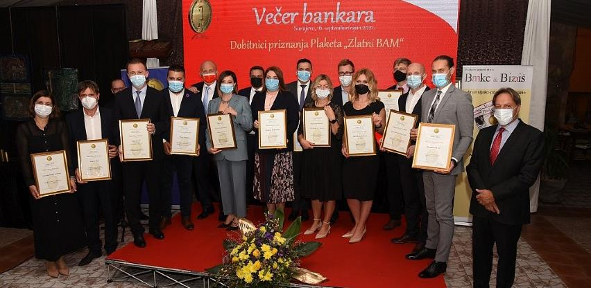 BBI banka dobitnica Plakete 'Zlatni BAM 2021' za promotivne aktivnosti