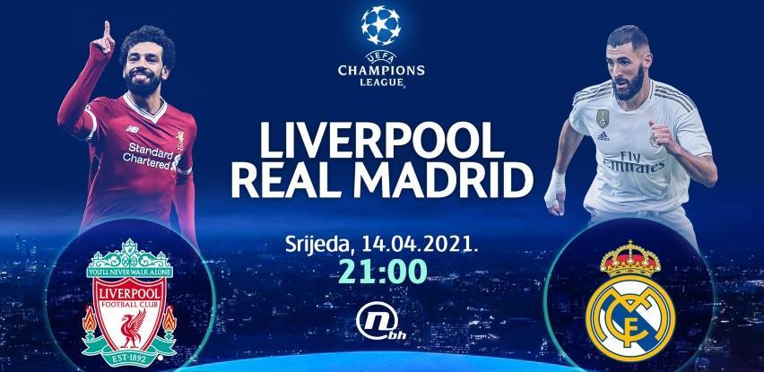 Real putuje u Liverpool po novu pobjedu