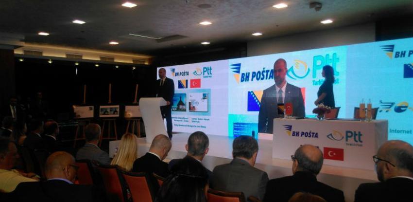 BiH i Turska pošta potpisale ugovor o saradnji u e-trgovini