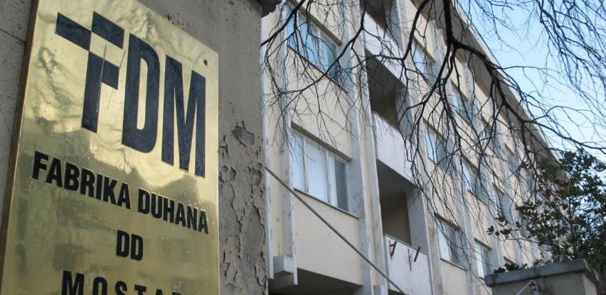 Hoće li doći do prodaje Fabrike duhana Mostar?