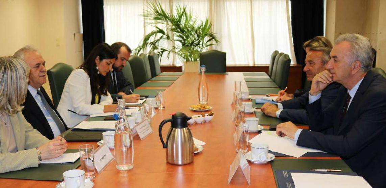 Ministar Šarović sa zamjenikom premijera Grčke i privrednicima