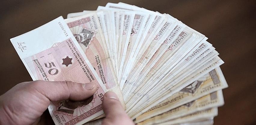 Rekordna prosječna plata nakon oporezivanja u junu - 994 KM