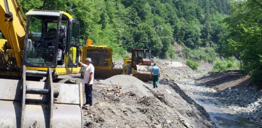 Vlada ZDK naložila nastavak radova na sanaciji puta Nemila - Bistričak