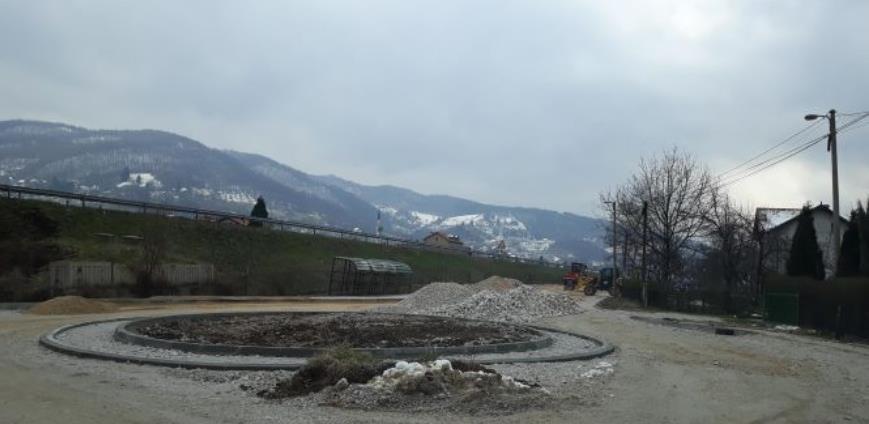 Nastavljeni su radovi na rekonstrukciji saobraćajnice u ulicama Svrake I i IV