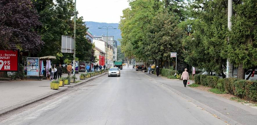 Test za ono što slijedi: Ilidžanska Rustempašina ulica vikendom postaje pješačka zona
