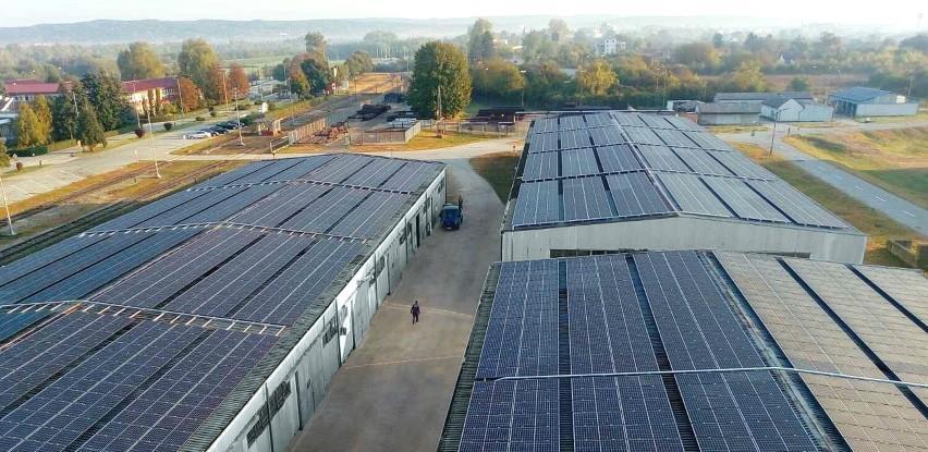 Solarna elektrana brodske rafinerije proizvela prve kilovate električne energije