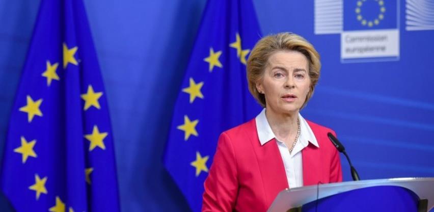 Von der Leyen: Od maja do kraja avgusta u BiH stiže 210.000 doza vakcina
