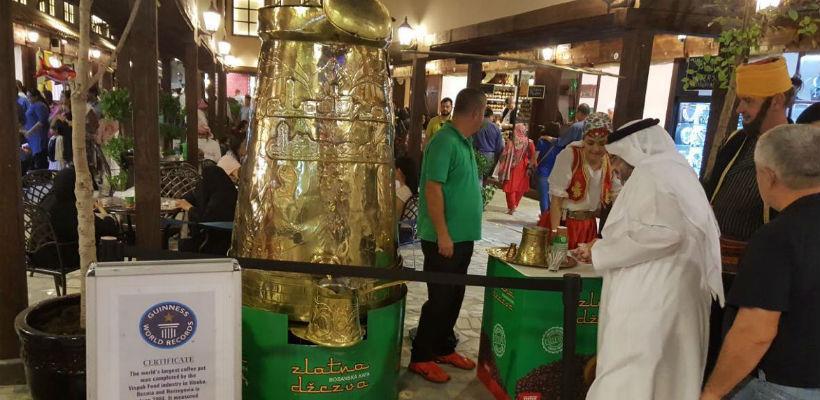 Najveća džezva na svijetu predstavlja BiH na Global Village Festivalu Dubai