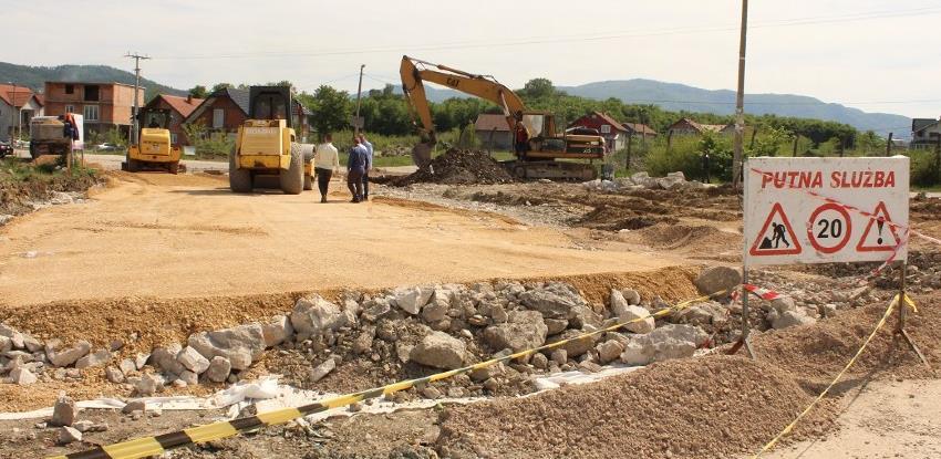 Počela izgradnja kružne raskrsnice u poslovnoj zoni Ciljuge 2