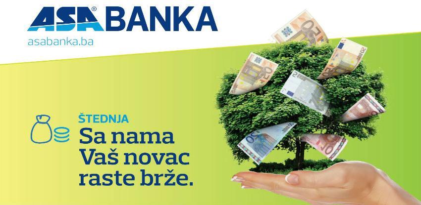 ASA Banka: Oročena štednja po akcijskim kamatnim stopama