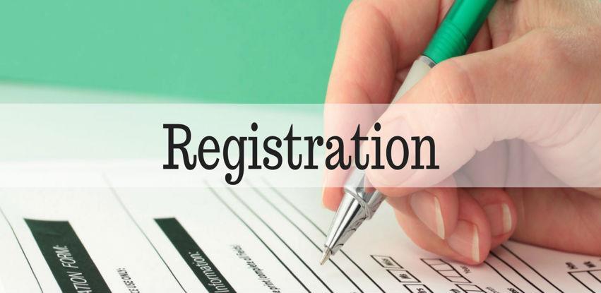Pravilnik o izmjeni podnošenja prijava za upis u Jedinstveni sistem registracije