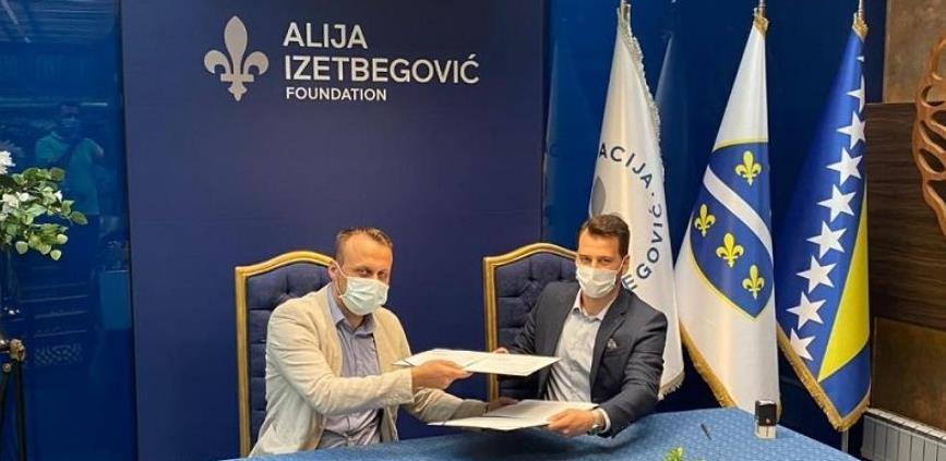 """Fondacija """"Alija Izetbegović"""" i BIGMEV potpisali sporazum o saradnji"""