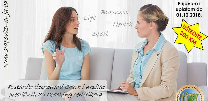 Postanite licencirani Coach i nosilac prestižnih ICI Coaching certifikata