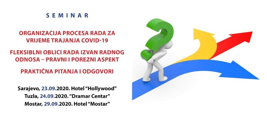 REC seminar: Organizacija procesa rada za vrijeme trajanja Covid-19