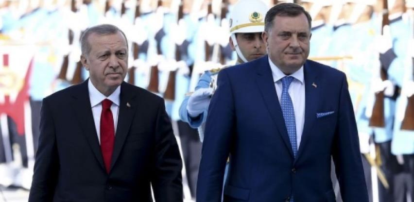 Dodik i Erdogan potpisuju sporazum o autoputu Sarajevo - Beograd