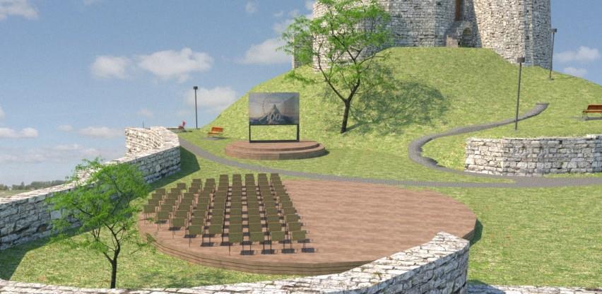 U Bosanskoj Krupi počinje uređenje Starog grada uz izgradnju pokretne pozornice
