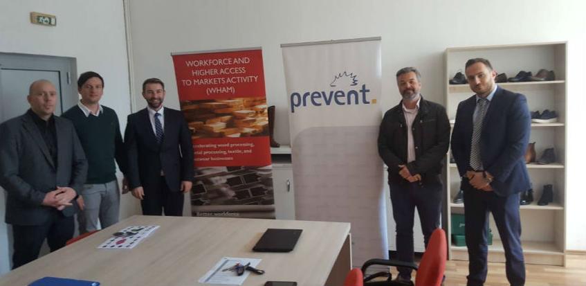 Predstavnici WHAM projekta posjetili pogone Prevent grupacije u Bugojnu